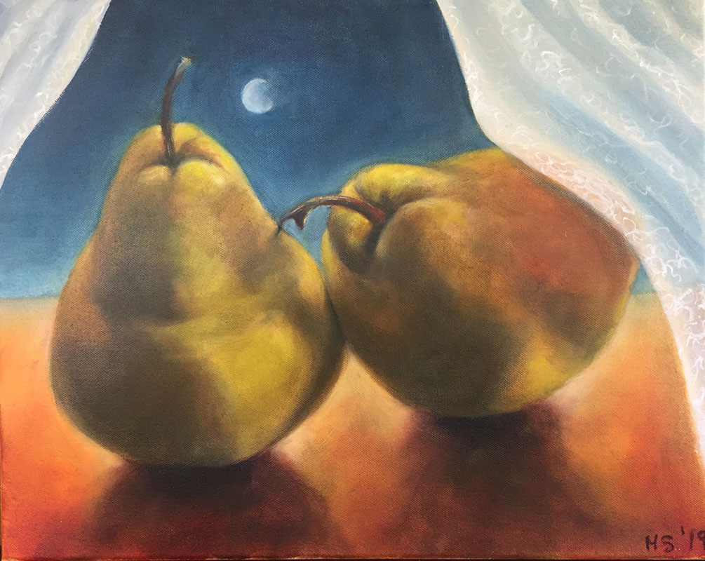 """Imagine the Refuge,"" Oil on Canvas, 20"" x 16"", 2019"